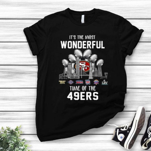 San Francisco 49ers It's The Most Wonderful Time Of The 49ers shirt