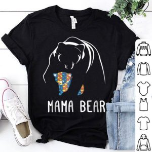 Awesome 2018 Autism Mama Bear - Men, Women, Young shirt
