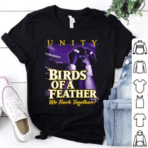 Baltimore Ravens Birds of A Feather We flock together shirt