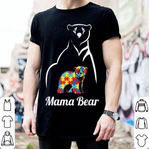 Beautiful Autism Awareness Mama Bear Mom Gift shirt