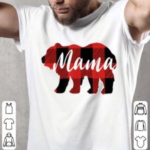 Beautiful Buffalo Plaid Mama Bear Mothers Day Gifts shirt