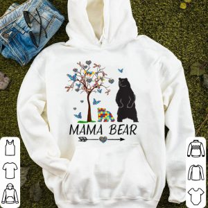 Beautiful Mama Bear Autism Awareness Love Support Autism Mom, Mommy shirt
