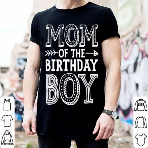 Beautiful Mom Of The Birthday Boy Mother Mama Moms Women Gifts shirt