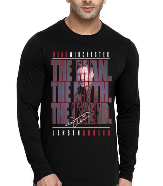 Dean Winchester the man the myth the legend Jensen Ackles shirt