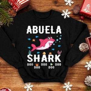 Nice Abuela Shark Mothers Day For Matching Family Tee shirt