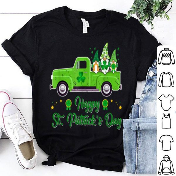 Nice Funny Nordic Gnomes Costume Happy St. Patrick's Day Gift shirt