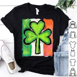 Nice Irish American Flag Ireland Shamrock St Patricks Day shirt