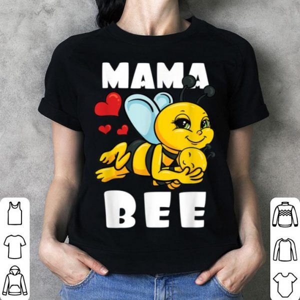 Nice Mama Bee Mothers Day Honey Beekeeper Mom Gift Idea shirt