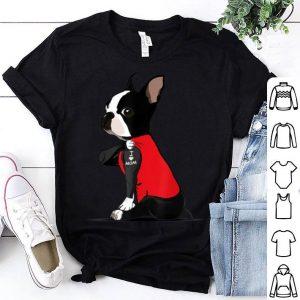 Nice Womens Boston Terrier Dog Tattoos I Love Mom Mother's Day shirt