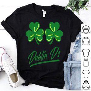 Official Dublin D Bra For Irish Women Girl Lady St Patricks Day shirt