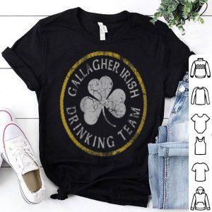 Official Gallagher Irish Drinking Team St Patricks Day shirt