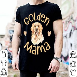 Official Golden Mama Cute Golden Retriever Dog Mom Pet shirt