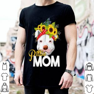 Official Pittie Mom Funny Cute Pitty Pitbull Mama Mother Gifts Women shirt