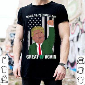 Original Make St Patricks Day Great Again Gift Trump Men Women shirt