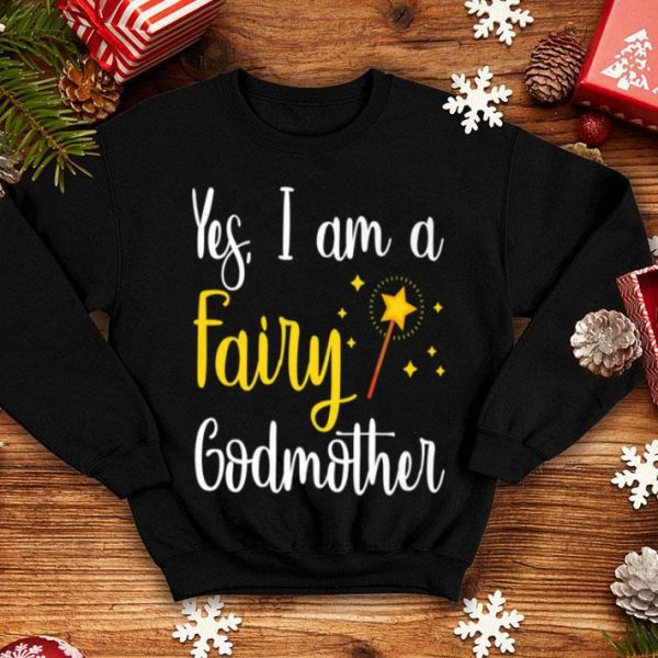 Original Pretty Mother's Day Fairy Godmother Wand Tee Mommy Nana Gift shirt