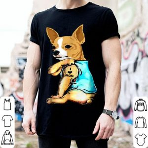 Original Womens Chihuahua Gifts Funny Chi Dog Mom Mama Mother Tattoo shirt