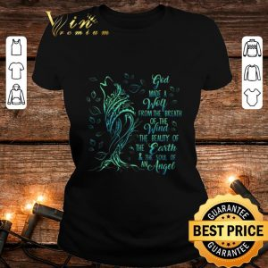 Premium God Made A Wolf From The Breath Of The Wind The Beauty Of The Earth shirt