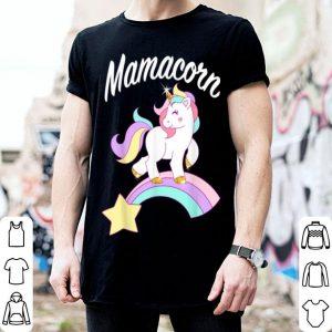 Premium Mamacorn Unicorn Mama Mother's Day Birthday Gift shirt