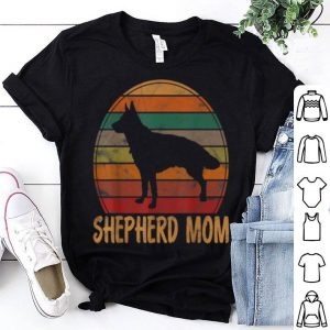 Pretty Retro German Shepherd Mom Gift Dog Mother Pet Shepard Mama shirt