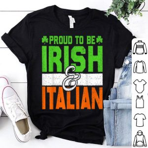 Pretty St. Patrick's Paddys Day Irish Italian Green Shamrock Gift shirt