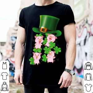 Top Pigs Magical Hat Lucky St Patricks Day Irish Lovers Gifts shirt
