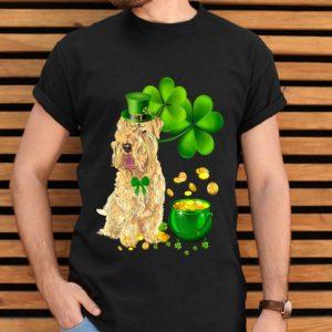 Wheaten Terrier Dog St Patricks Day Leprechaun Dog Lover shirt