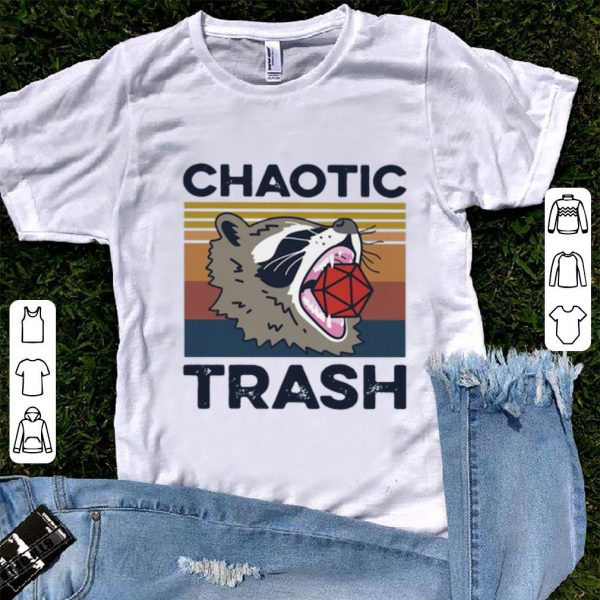 Premium Vintage Raccoon Chaotic Trash shirt