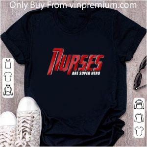 Pretty Marvel Type Nurses Are Superhero shirt