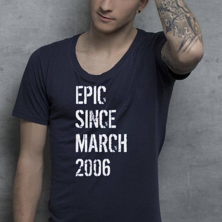 Born In March 2006 Birthday shirt 4 - Born In March 2006 Birthday shirt