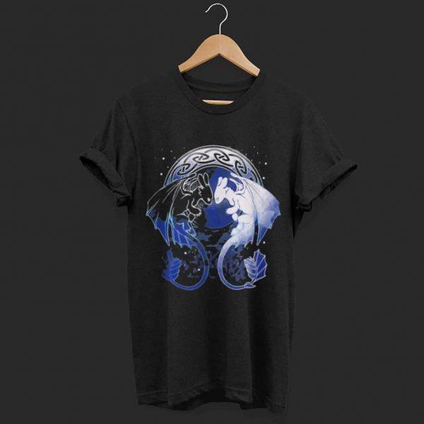 Dragon lovers Two Dragons shirt