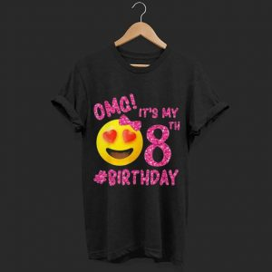 Emoji OMG It's My 8th Birthday shirt