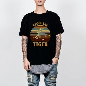 Eye of the tiger vintage shirt