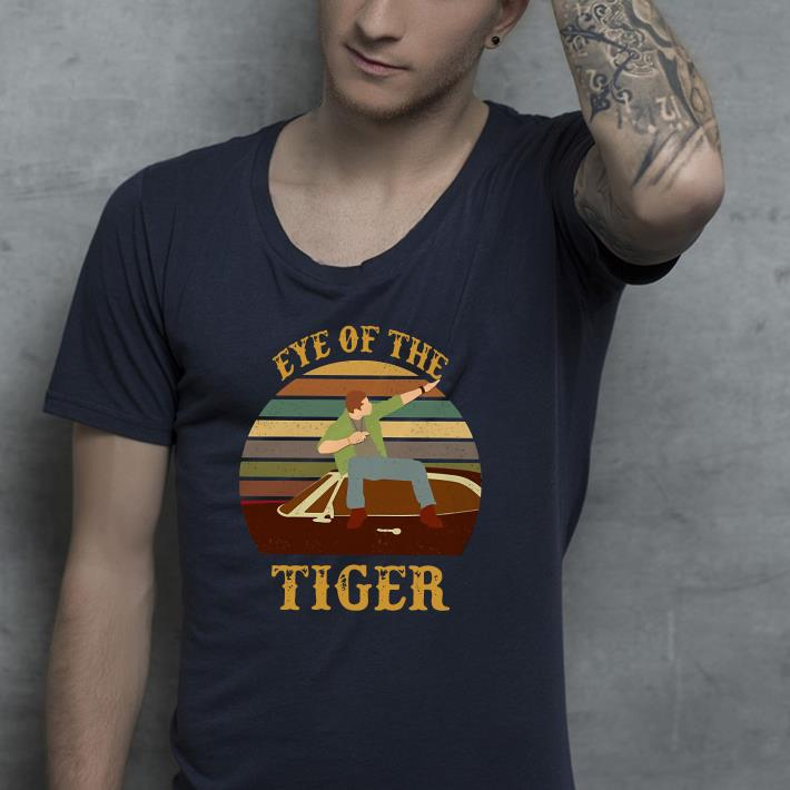 Eye of the tiger vintage shirt 4 - Eye of the tiger vintage shirt