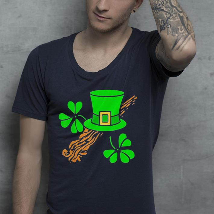 Leprechaun Hat and Lucky Shamrocks shirt 4 - Leprechaun Hat and Lucky Shamrocks shirt