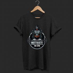 Motivate The Gym Gorilla Deadlift Strength Workout shirt