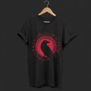 Odin Ravens Huginn & Muninn Vegvisir shirt