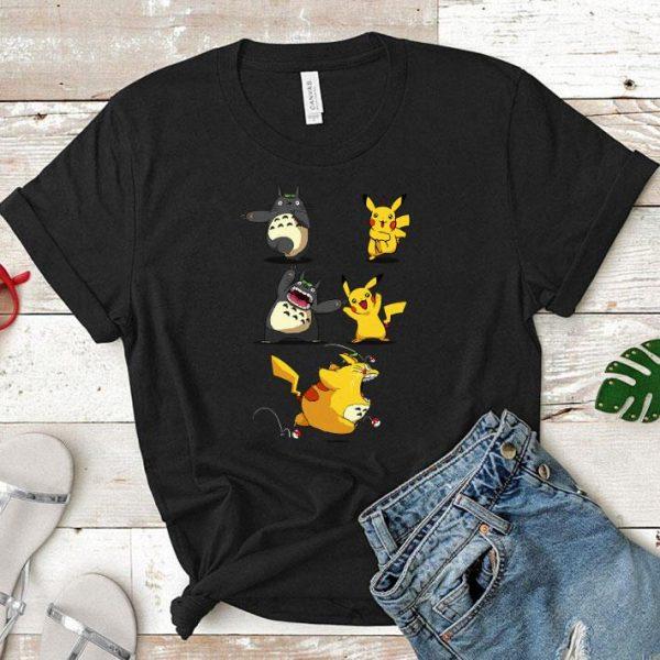 Pikachu fusion Totoro became Totochu or Pikaro shirt