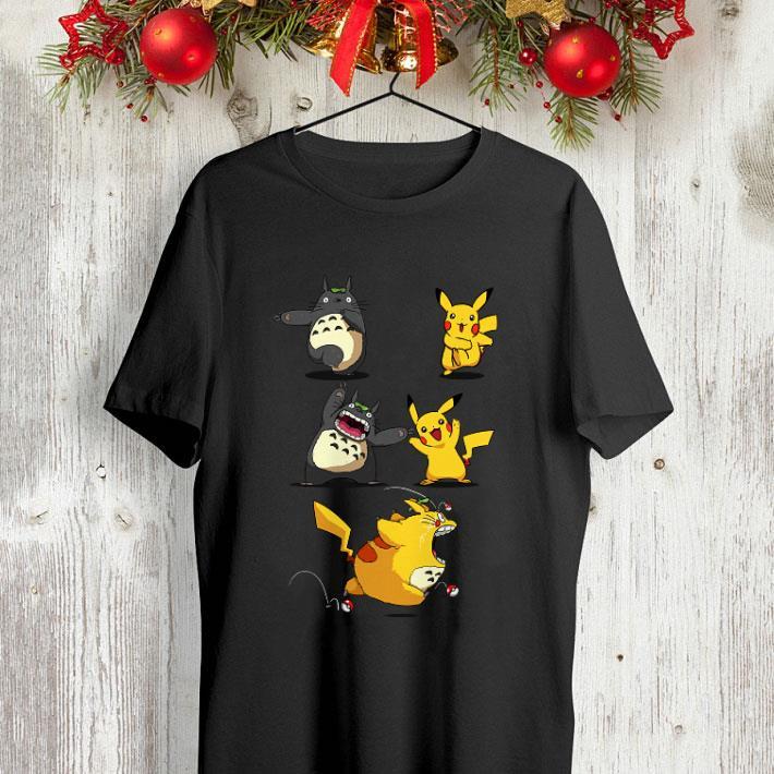 Pikachu fusion Totoro became Totochu or Pikaro shirt 4 - Pikachu fusion Totoro became Totochu or Pikaro shirt