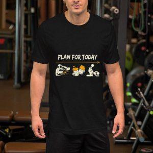 Plan For Today Welder beer sex shirt