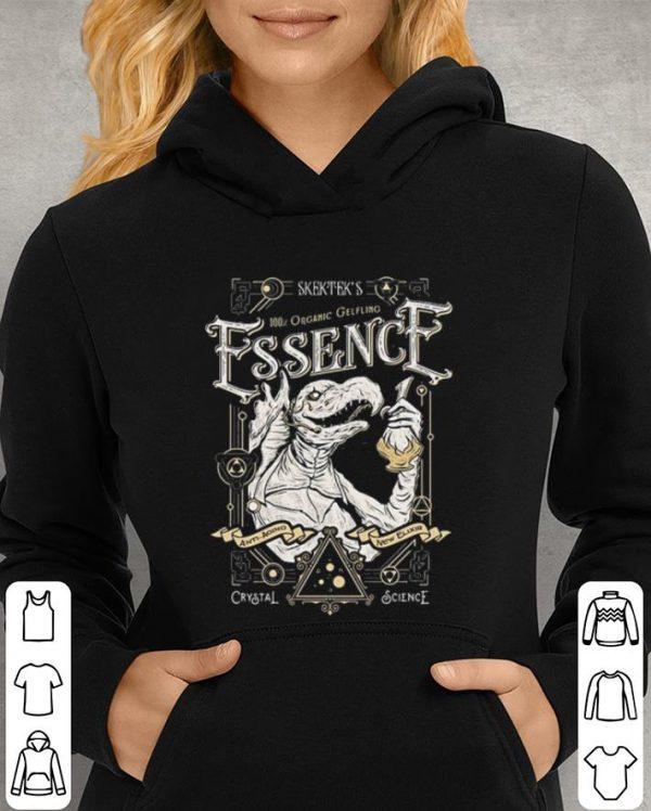 Skektek's organic gelflino Essence crystal science shirt