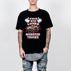This Kid Loves Monster Trucks shirt