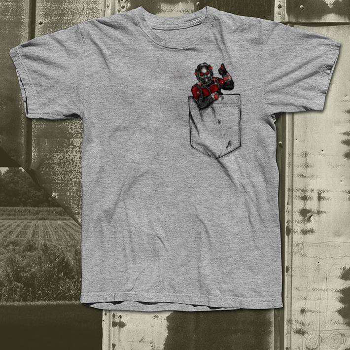 Ant man in pocket shirt 4 - Ant man in pocket shirt
