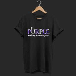 April Purple month of the military child shirt