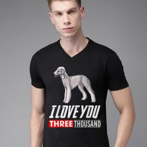 Bedlington Terrier Dog I Love You 3000 shirt