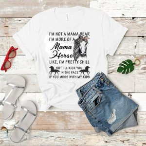 Bow America I'm not a mama bear i'm more of a mama horse like shirt