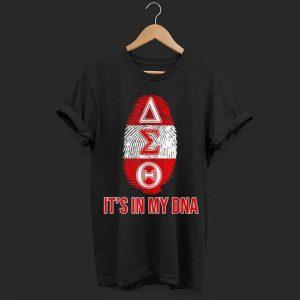 Delta DST Sorority DNA shirt