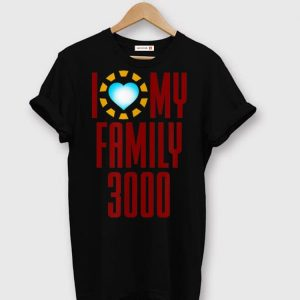 I Love My Family 3000 shirt