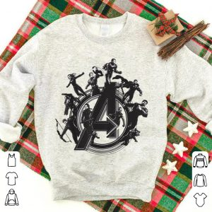 Marvel Avengers Endgame Flying Heroes shirt