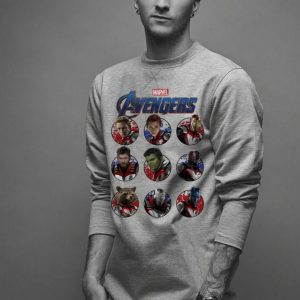 Marvel Avengers Endgame Main Cast Circles shirt