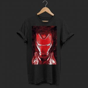 Marvel Avengers Endgame Red Iron Man shirt